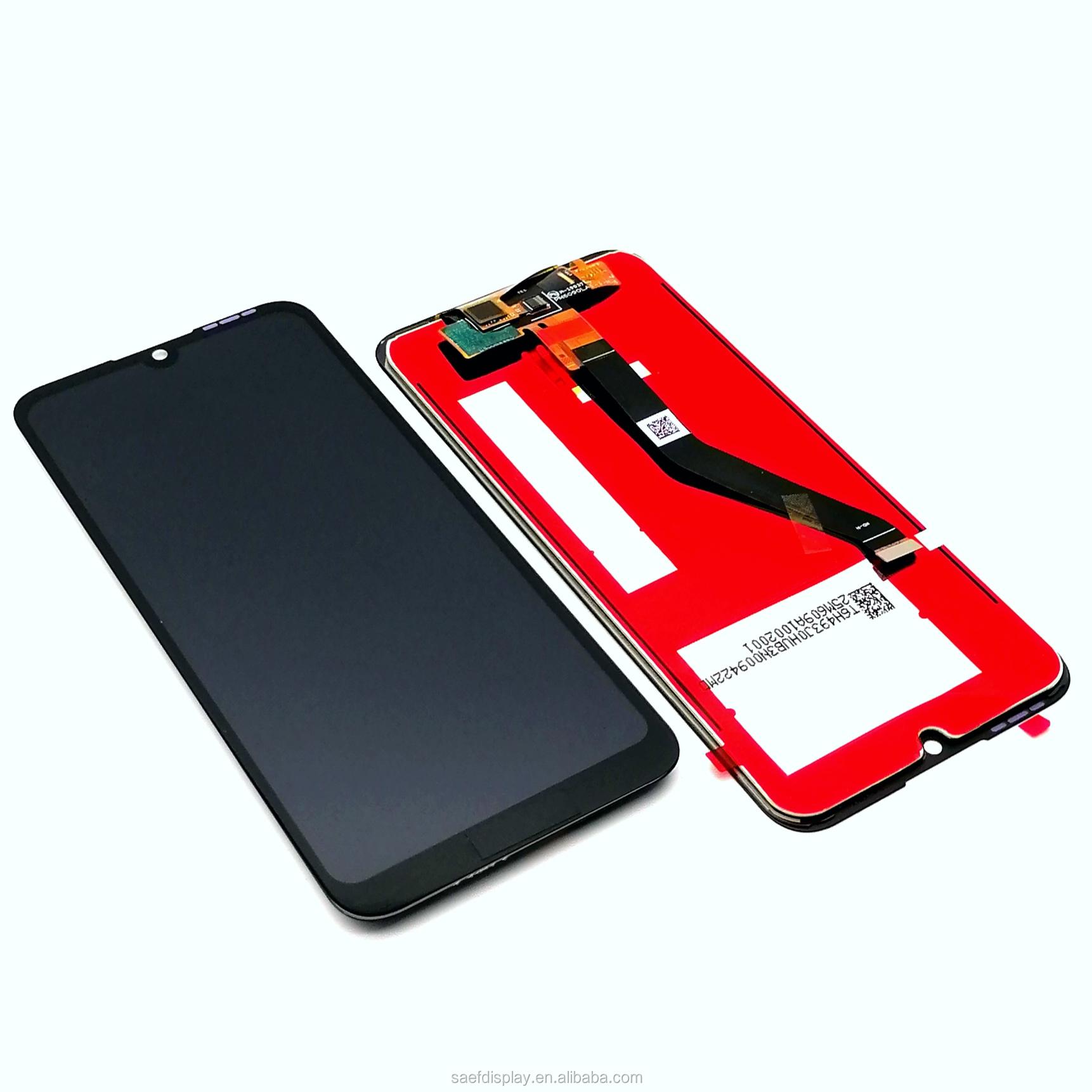 Asli LCD untuk Huawei Y6 2019 Y6 Prime 2019 Sentuh Layar Digitizer Panel Perakitan untuk Kehormatan 8A Pro LCD Display