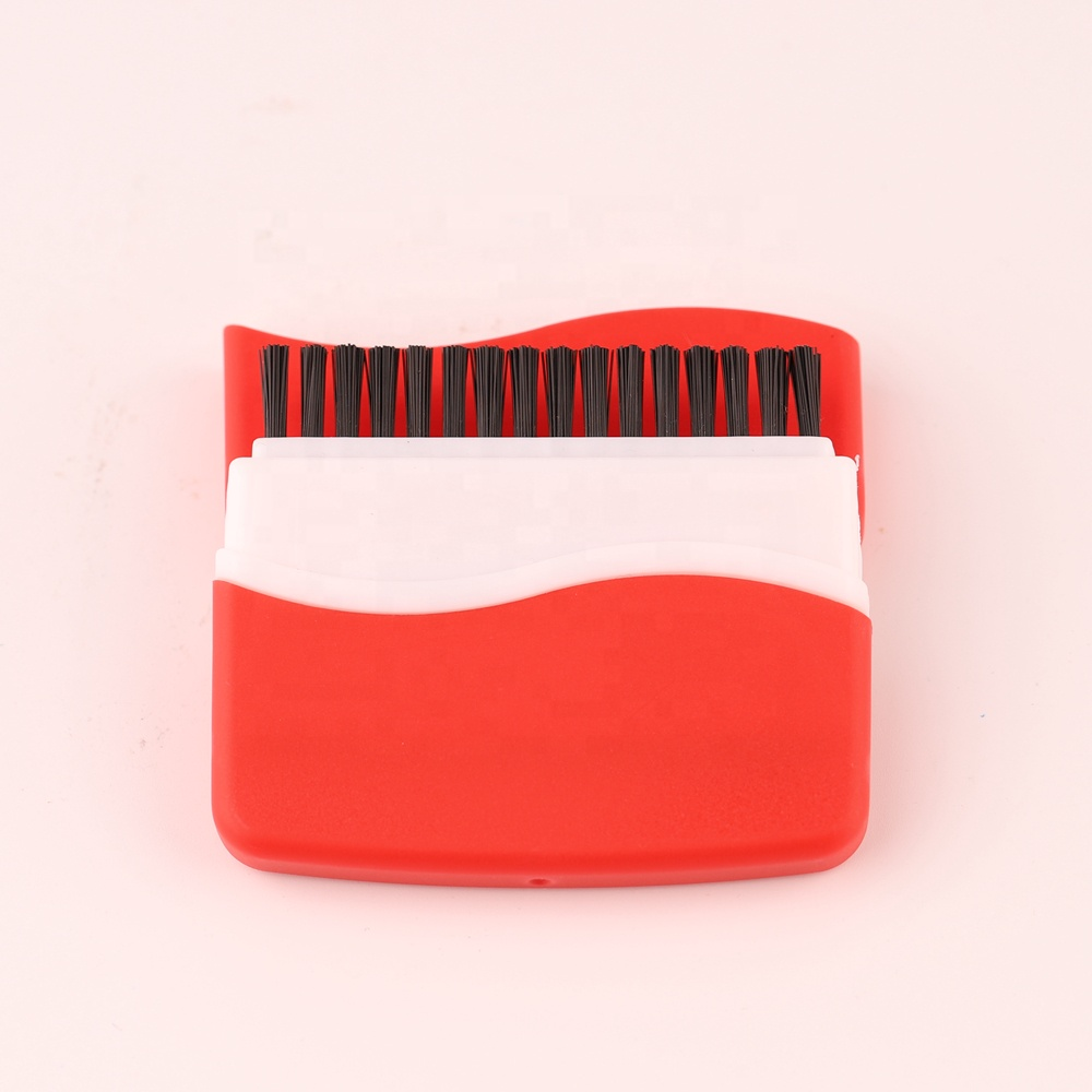 Plastic Keyboard Brush 2 in 1 for Computer screen &lens etc
