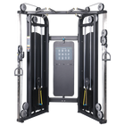 Gym Fitness Equipment Commercial Strength Machine weight stack FTS Glide Functional trainer for sale