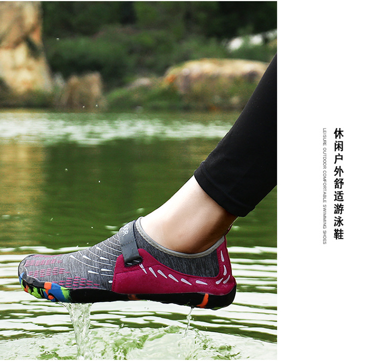 Men Women Quick Dry Barefoot Hiking swimming sand walking Water aqua beach Shoes Mesh upper Diving Swimming Shoes