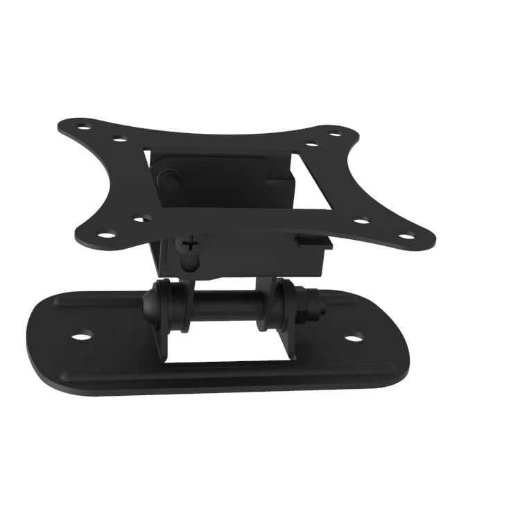 Low Profile Articulating Full Motion Tilt and <strong>Swivel</strong> Arm <strong>TV</strong> Wall Mount <strong>Bracket</strong> for 13-27&quot; Flat Curved