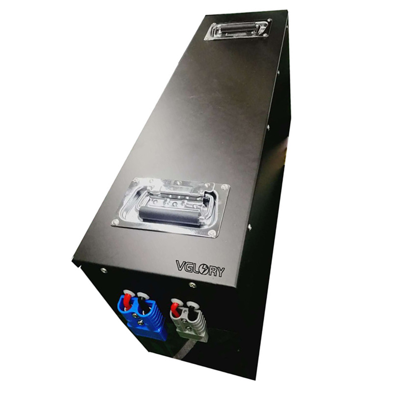 Environmental protection lithium marine battery 72v150ah