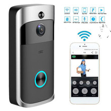 1080P Deurbel Camera Wifi Video Deurbel Camera Draadloze Video Deurtelefoon Intercom HD Ring Wifi Deurbel Camera voor appartementen