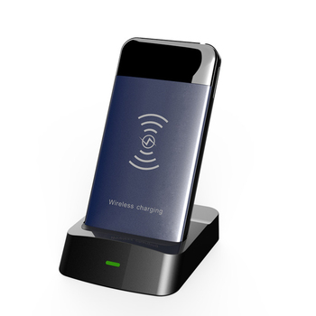 docking charger multi usb desktop charger dock station with wireless power bank