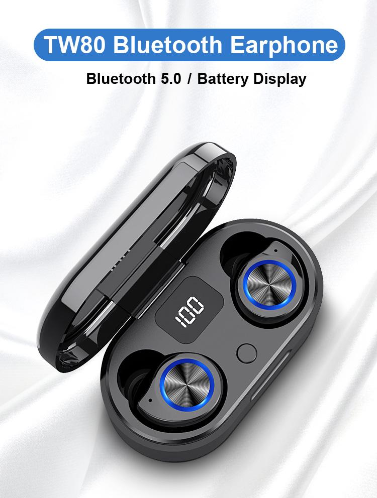 Tws Aviação Fone de Ouvido Fone de Ouvido Blue tooth Fones de Ouvido Fone De Ouvido Sem Fio No Ouvido do Smartphone Banco de Potência Ps4 Microfone Logotipo Personalizado