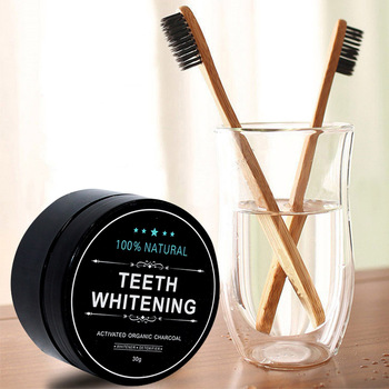 2020 Natural Carbon Organic Stain Removal Activated Charcoal Teeth Whitening Powder Whitener