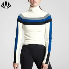 Großhandel casual wear frauen colorblock <span class=keywords><strong>pullover</strong></span> Polyester Merino wolle hohe ausschnitt <span class=keywords><strong>pullover</strong></span> für wandern <span class=keywords><strong>pullover</strong></span>