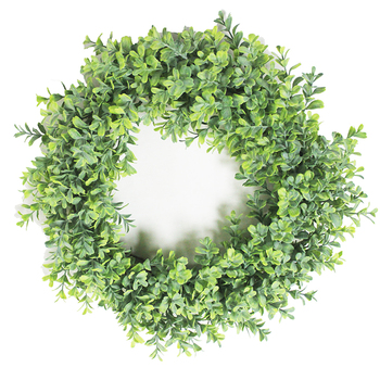 Exceptional quality plastic foliage vine greenery home decor christmas wreath making supplies boxwood wreath artificial trees