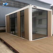 Luxus tiny tragbare modulare glas wohnzimmer container <span class=keywords><strong>haus</strong></span>
