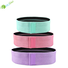 Logo Customization Bands Fitness Elastic Band Exercise YumuQ Adjustable Elastic Exercise Resistance Loop Bands Set for Legs Hip Butt Fitness and Workout