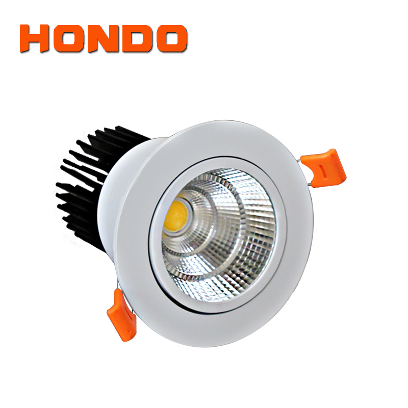 50W Chinese Factory Price Aluminum Hole cut 165mm COB/Birdgelux chips Indoor White Black Ceiling LED Spot Light
