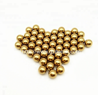 Customized 12mm pure brass beads solid brass balls for bearing