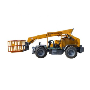 Large Automatic Diesel Pallet Truck Fork  5.t  Four-wheel drive loader Lift Truck
