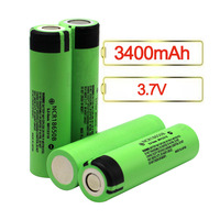 Wholesale NCR18650B 3400mAh Rechargeable 18650 Li Ion Battery for Panasonic