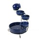 OEM Solar Power 3-Tiered garden decoration fountain water waterfall