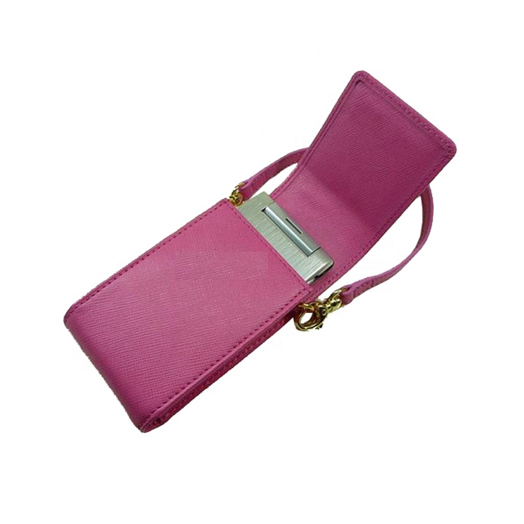 fashion touch pink MP4 player case with rope belt for promotion gifts