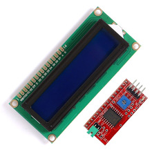 <span class=keywords><strong>Oem</strong></span>/Odm Lcd-scherm LCD1602 Module Blauwe Achtergrondverlichting Iic I2C Lcd-scherm Module Voor Arduino
