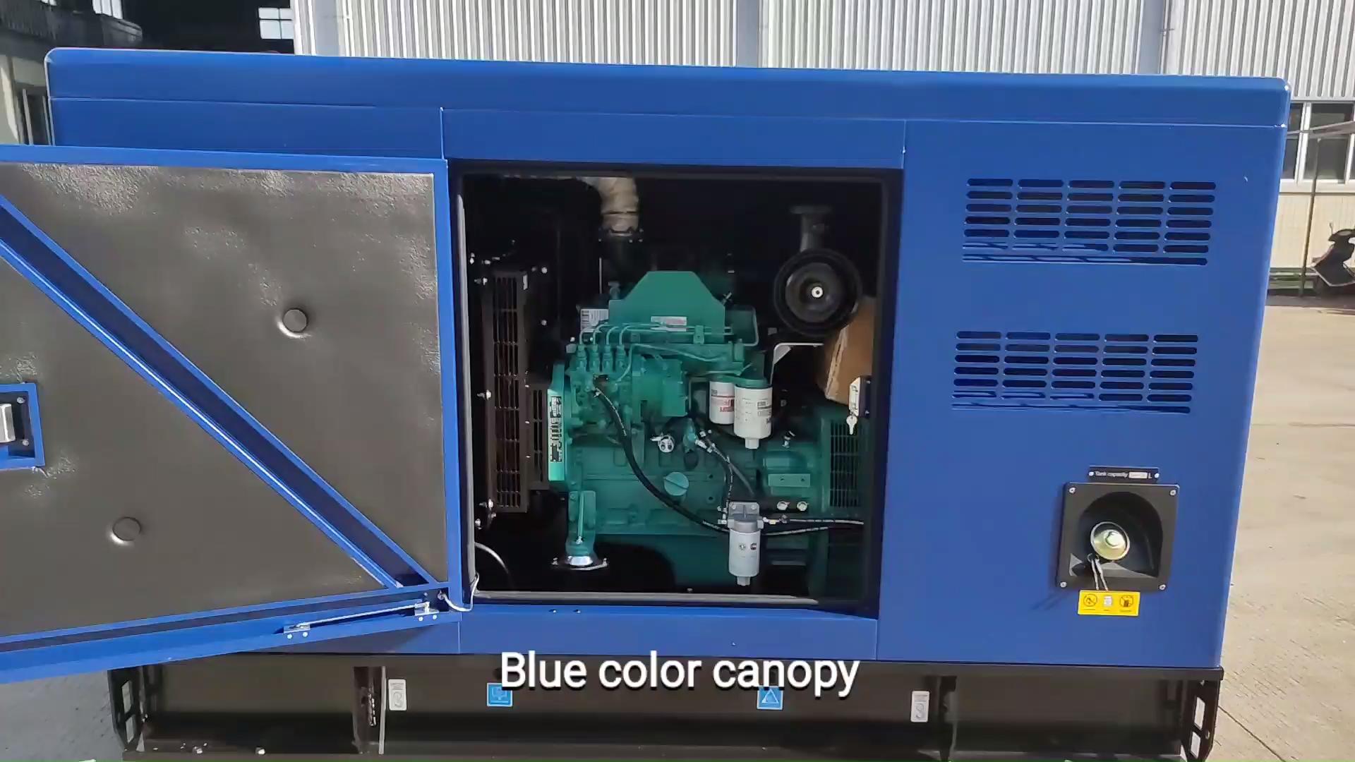 Baru 25kw Generator Diesel Mesin Bahan Bakar dengan Harga Terjangkau