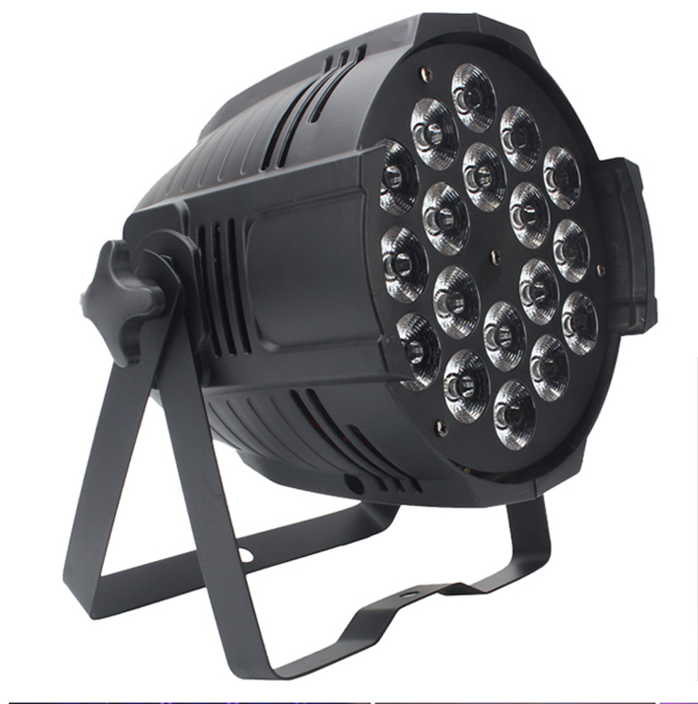 U`King 18x10W Aluminum Shell LED Wash Light Uplight RGBW Disco Lighting LED Par Can Stage Lights