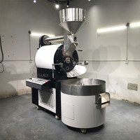 beans 30kg 60kg 120kg 200kg industrial commercial roasting machine coffee roaster turkey