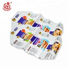 Custom Printing Laminated Packaging Plastic Sealing Film For Snack Wrap
