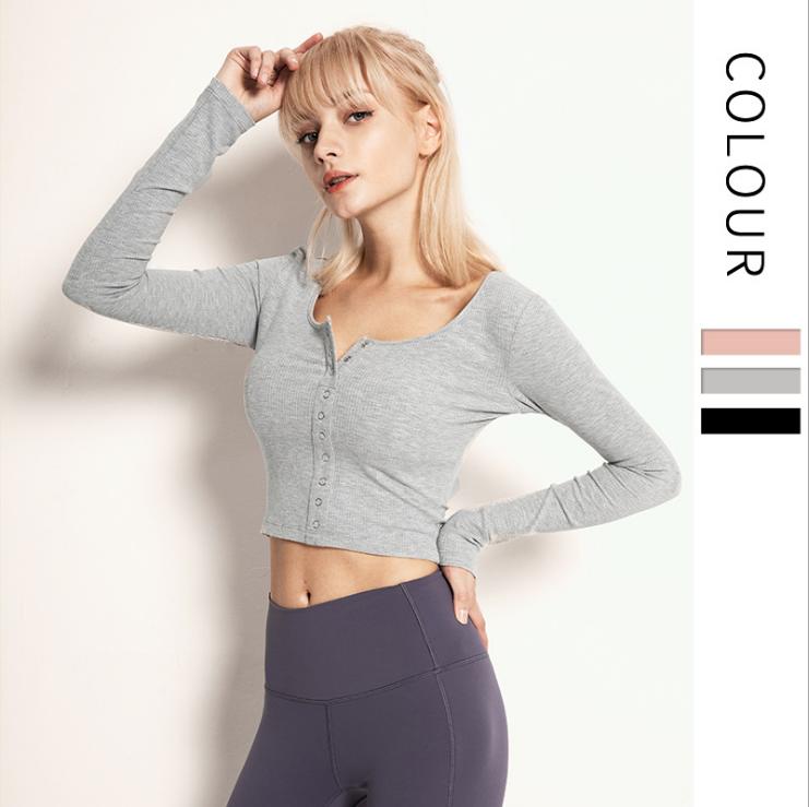 Thread-Sports-Shirt-Female-Long-Sleeved-Slim