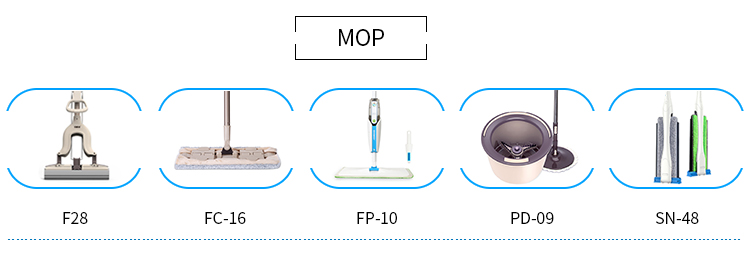 Household easy use magic mop suit for all kinds of floor types steam mop