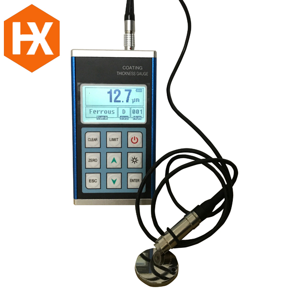 Coating Ultrasonic <strong>Thickness</strong> Gauge HXCTG-300 PC software optional, convenient the data transmission, analysis, printing