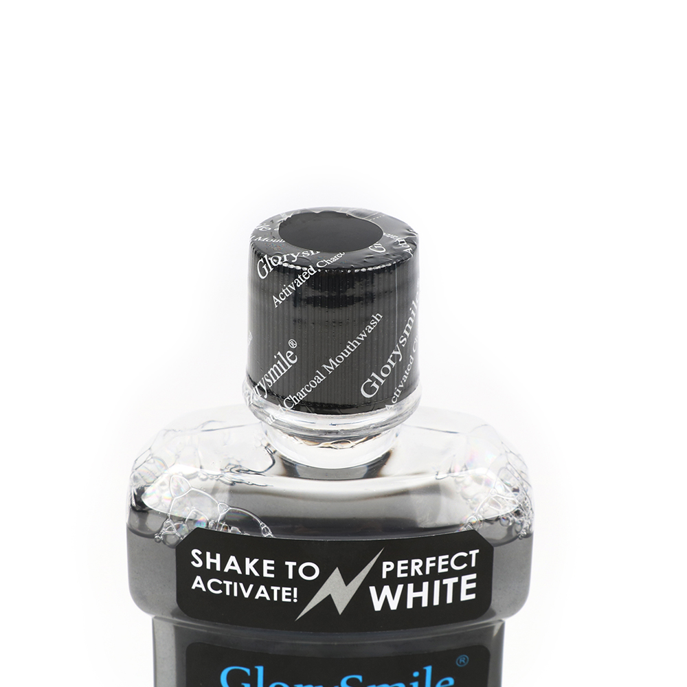 Deep Teeth Stain Remover Activated Charcoal Whitening Mouthwash 250ml