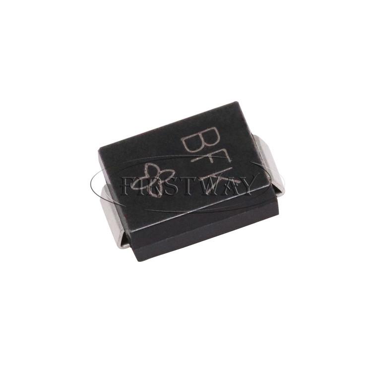 SMC30J20CA 20 V Transil SMC30J Series SMC30J20CA 22.2 V RoHS Compliant: Yes 2 DO-214AB TVS Pack of 5 Bidirectional Transient Voltage Suppressor