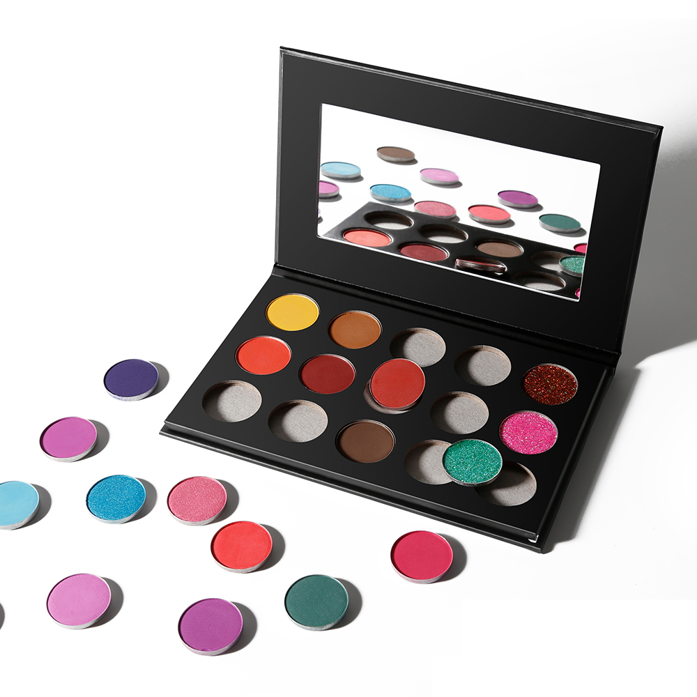 Private Label High Pigment Eye Shadow Empty DIY Eyeshadow Palette