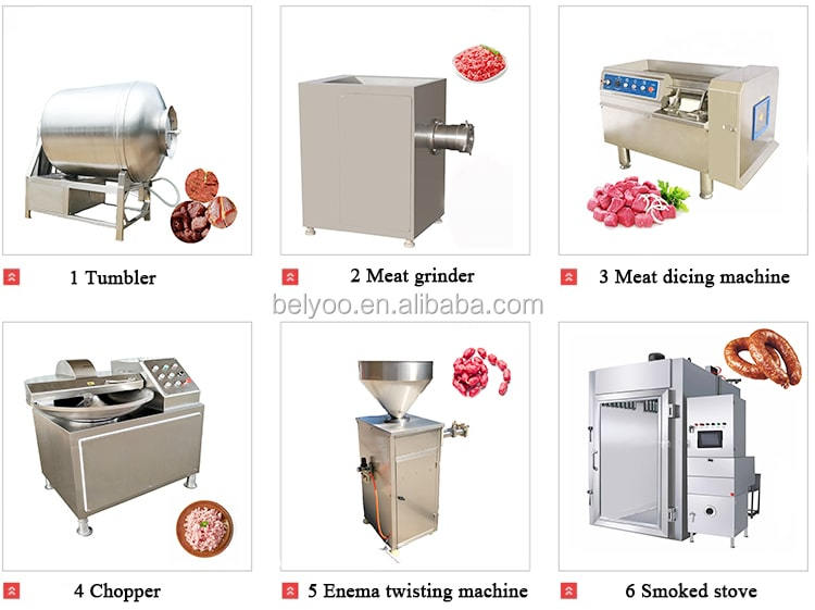 Working Long Time Fish Smoking Oven Meat Cutting Machine/Easy Operation Fresh Fish Meat Cutter Machines For Sale