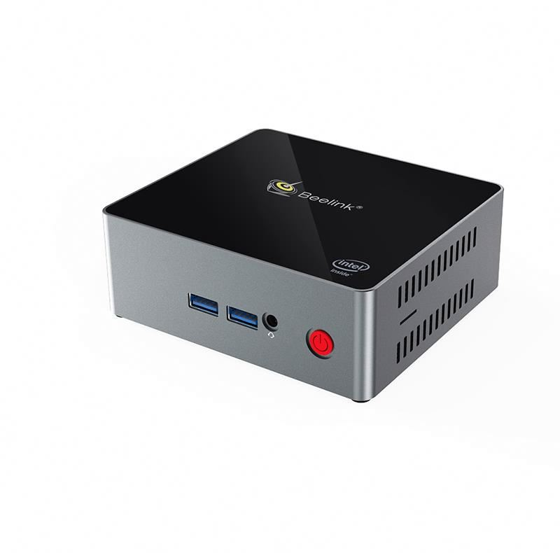Caja de tv inteligente modelo J45 mini pc windows 10/apoyo Bluetooth 4,0/apoyo de poder en