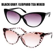 SOOLALA кошачий глаз анти голубой свет очки для чтения женские антибликовые пресбиопические очки для компьютера рамка солнцезащитные очки для...(Китай)