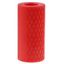1 шт. ручки для гантели с толстой штангой, ручка для тяжелой атлетики, силиконовая противоскользящая защитная накладка высокого качества(Китай)