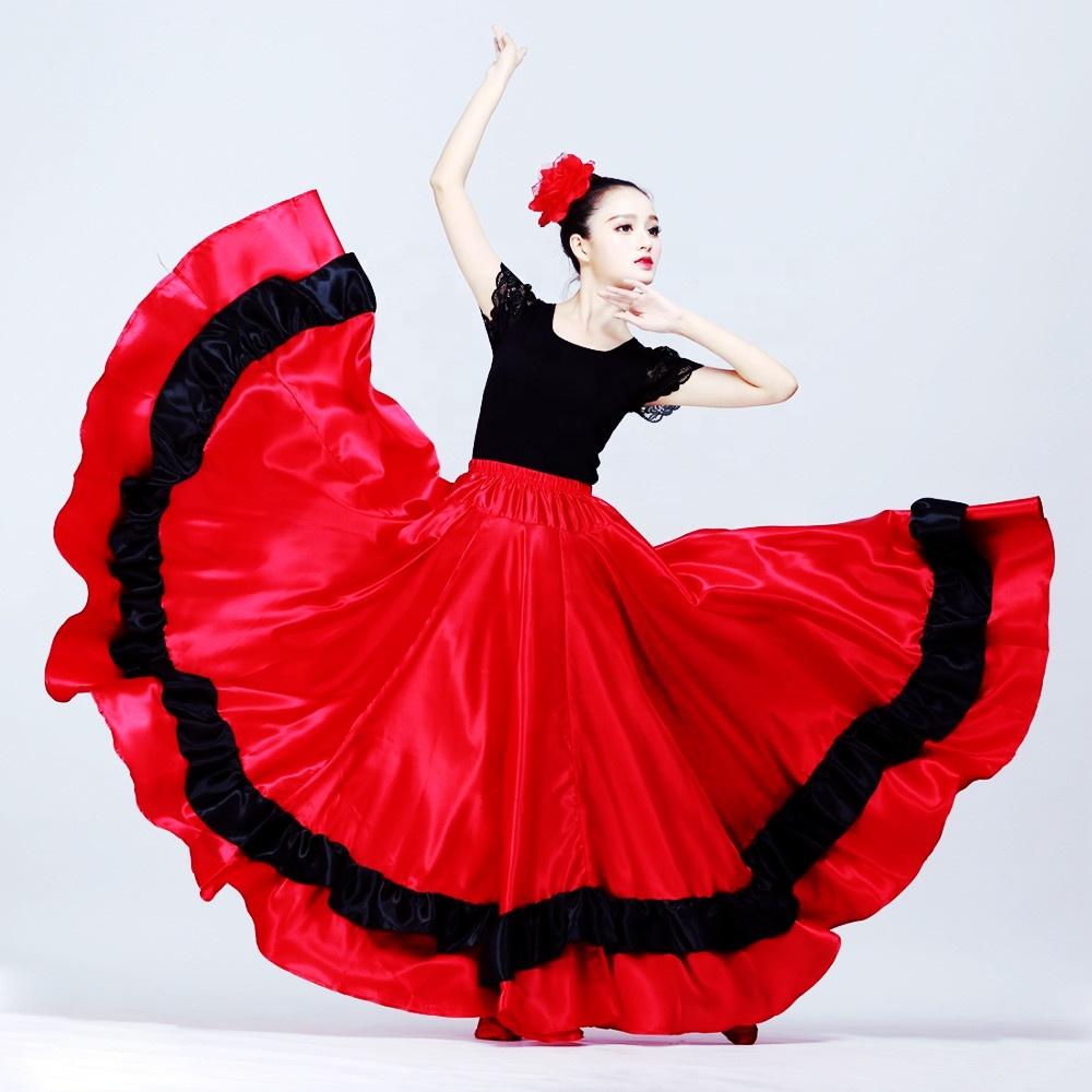 ベリーダンスのセクシーなエジプト衣装格安セクシーなベリーダンスのスカートフラメンコスカートベリーダンス衣装