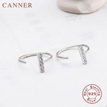 Серебряное/Золотое кольцо для носа 925 пробы Серебряный Пирсинг ушной хрящ серьги открытие регулируемое ювелирное изделие(China)