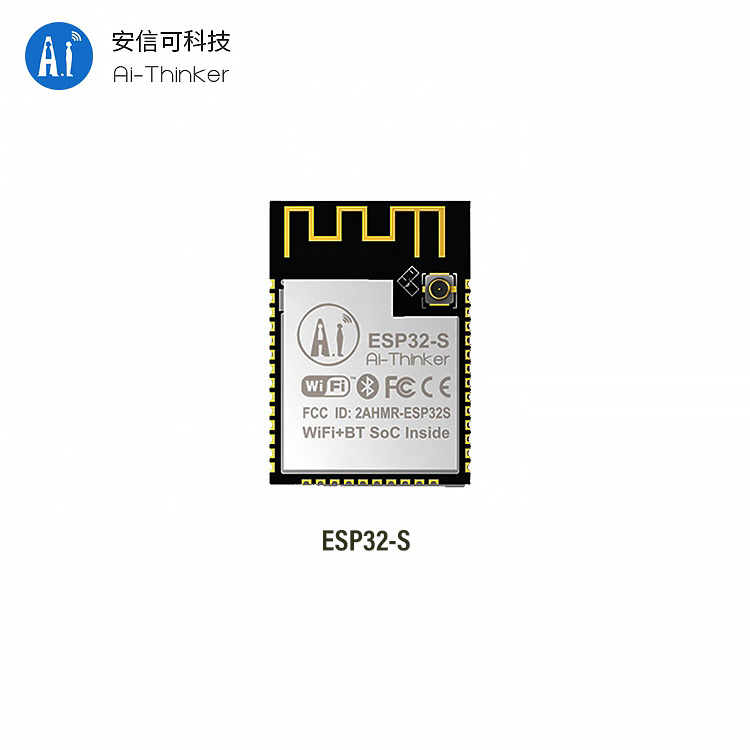 Ai-Thinker ESP32-S 2.4G <strong>WiFi</strong>+BT/BLE SoC/ dual-frequency/PCB/exteral antenna/ESP32 Chip