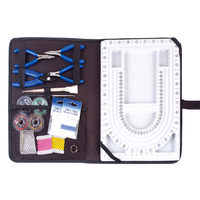 Jewelry Beading Board And Bags Kit