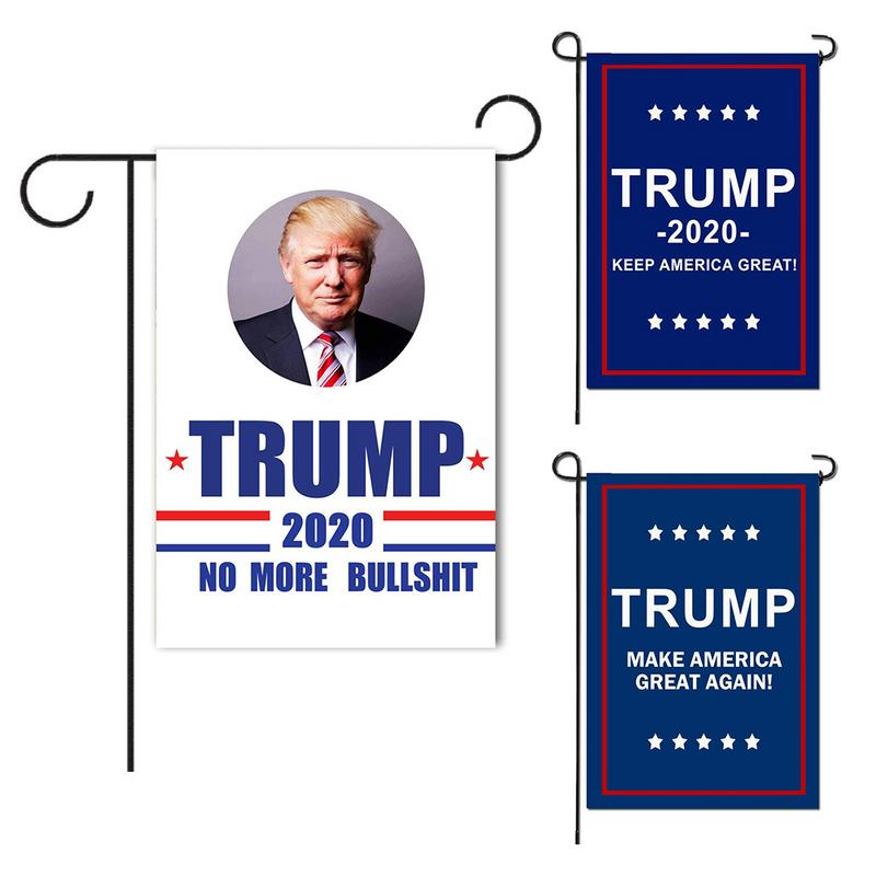 D-648 President General Election <strong>Banner</strong> 2020 Trump Garden Flags 30* 45cm