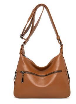 Женская сумка из натуральной кожи, Классическая Повседневная модная женская сумка через плечо, сумка-мессенджер, женская сумка-тоут, Bolsos Mujer...(Китай)