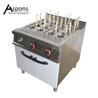 New product Restaurant Kitchen Equipment Noodle Cooker Gas Commercial Pasta Cooker with Cabinet