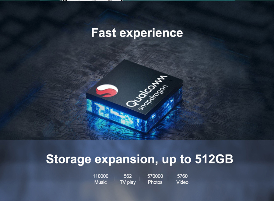 Lenovo K12 Pro 6.8''HD+ 4GB 64GB 720*1640 Android 10 6000mAh Battery 64MP AI Camera Octa Core OTG Mobile Phone