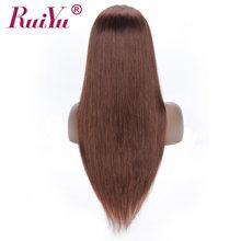Прямые парики для женщин, бразильские парики из натуральных волос на кружеве, предварительно выщипанные волосы для детей 13x4, цветные парики...(Китай)