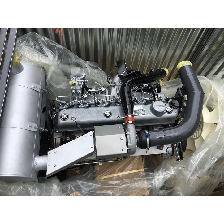 Construction Machinery Parts Original new 6D16 turbo engine assy 6D16-TLE2A complete engine assy suitable for BELL 1430 HD1430