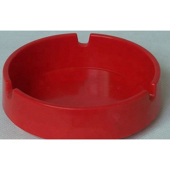 popular melamine squared golden plated ashtray for sale