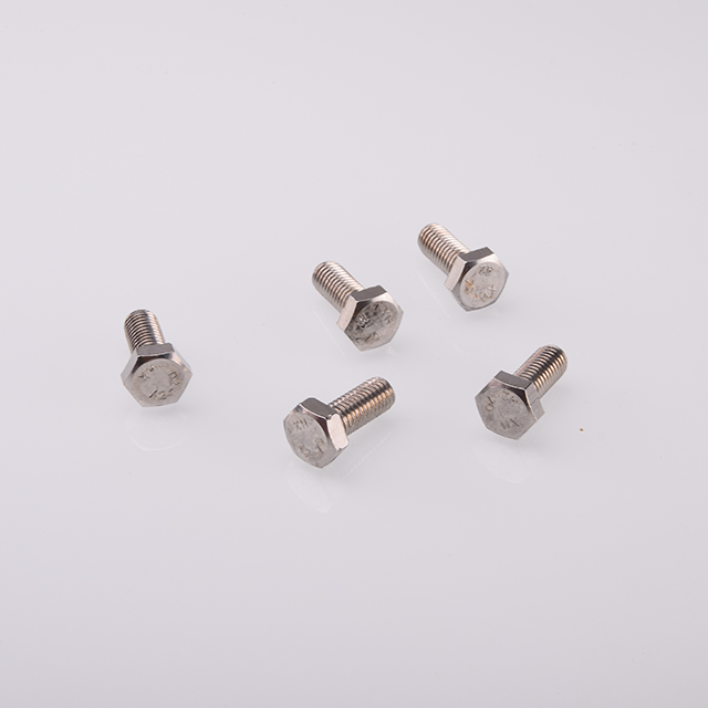 A2-70 DIN933 Full Thread Hex Head Bolt 304 Stainless Steel <strong>Screw</strong>