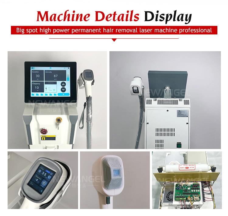 3 длинами волн медицинский прибор для измерения диодный лазер для удаления