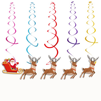 Christmas Hanging Swirl Decoration Kit Ceiling Swirl Decoration