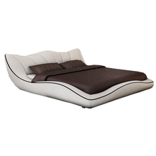 CBMMART di Lusso in pelle moderno <span class=keywords><strong>letto</strong></span> king size